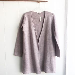 NWT Madewell Lombard Long Sweater Coat